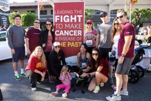 (Photo/Courtesy USC Norris Kickin' Cancer Team)