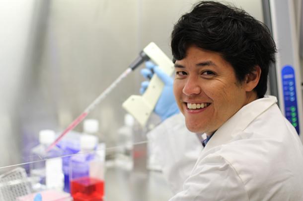 Researcher Justin Ichida