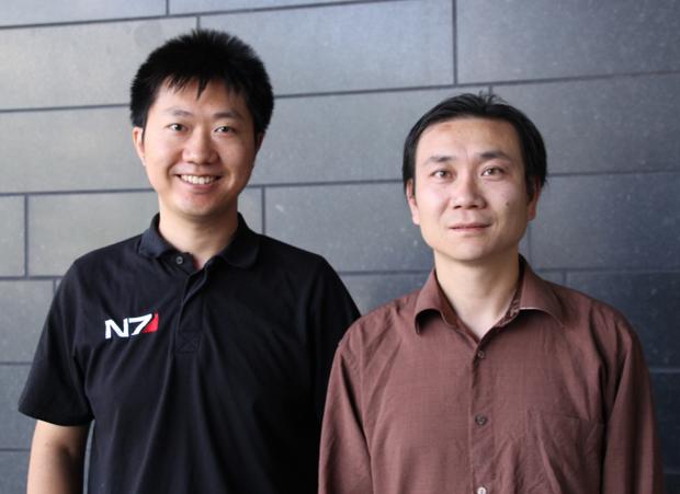 Ang Li and Yuwei Li will employ cutting-edge imaging tools to study feather development.