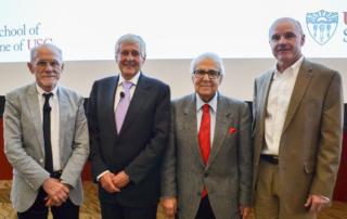 Ryszard Kole, Stanley T. Crooke, Shaul Massry and Tom Buchanan