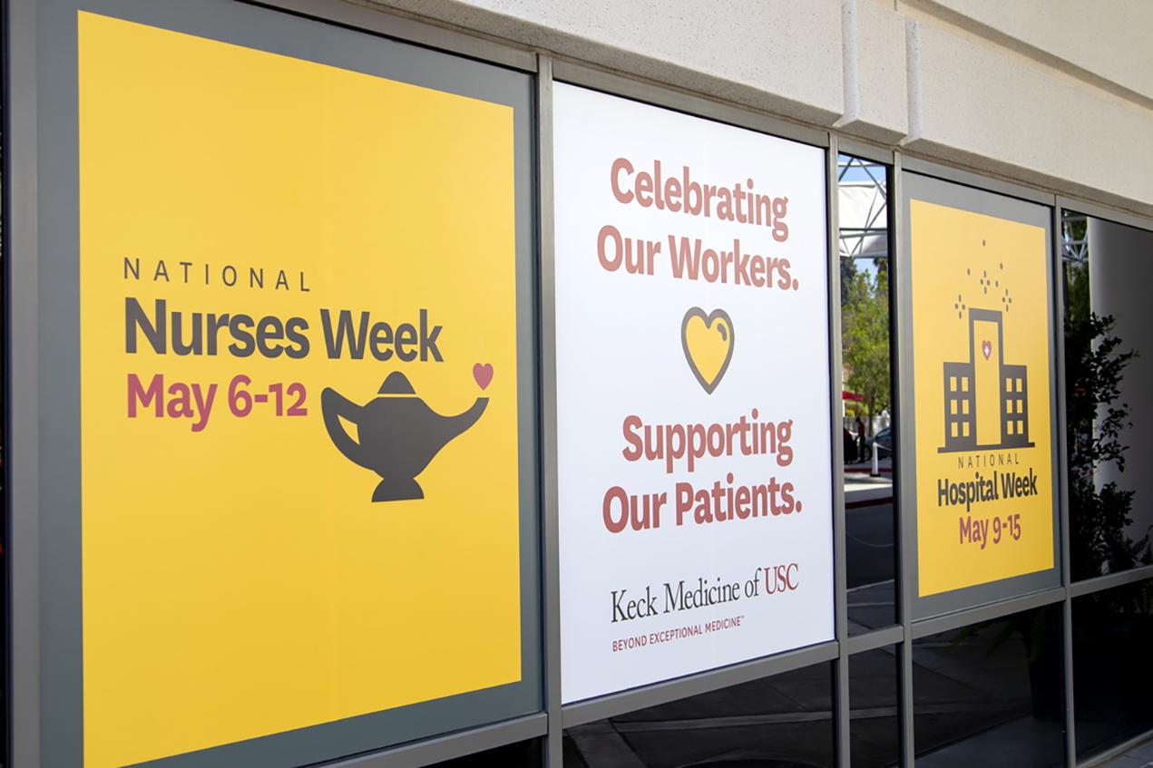 Keck Medicine of USC celebrated National Nurses Week and National Hospital Week.